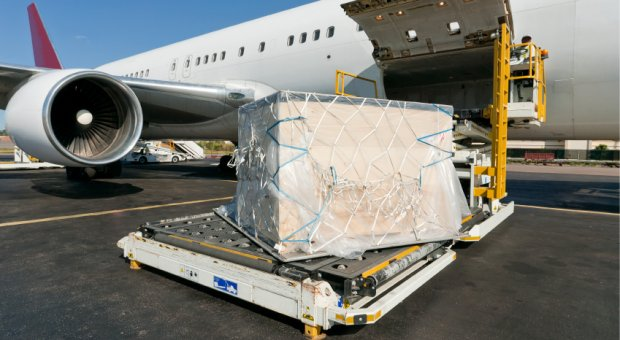 Aeroplane and cargo, UK Import Services Limited